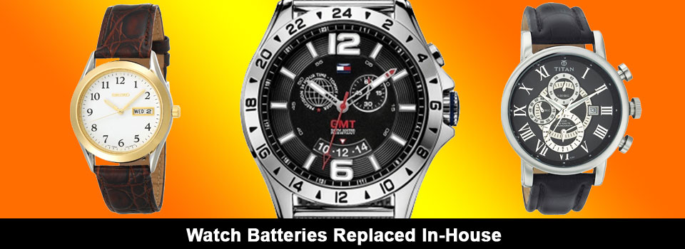 Watch Batteries Replaced